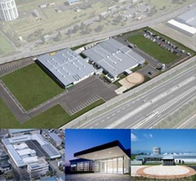 北関東道 伊勢崎ICから1分の三和センターにはクリーンルーム、最先端マシンを設備